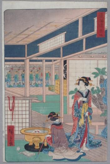 赤坂 東海道 (御上洛東海道・行列)